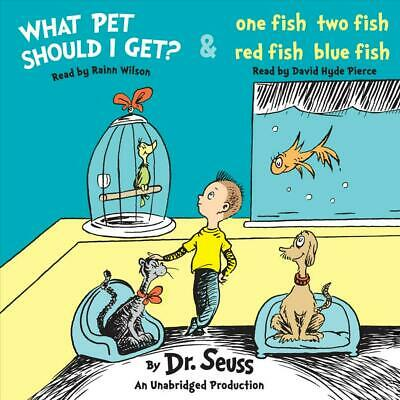 What Pet Should I Get? and One Fish Two Fish Red Fish Blue Fish by Dr Seuss Comp