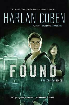 Found by Harlan Coben (English) Paperback Book Free Shipping!