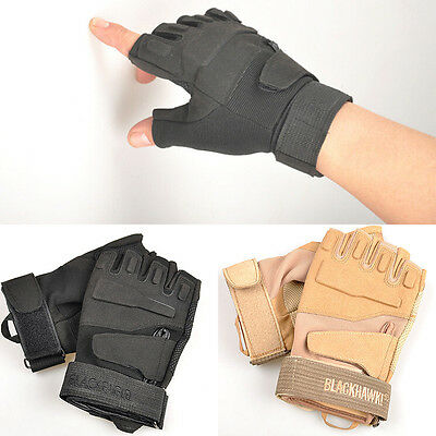 Nice Fingerless Outdoor Sports  Military Tactical Riding Game Gloves