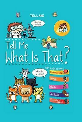 Tell Me What Is That? by Elisabeth Marrou (English) Spiral Book Free Shipping!