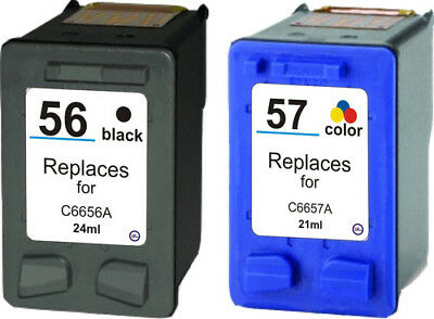Remanufactured Txt quality Black & Colour Ink Cartridges for HP PSC 1317