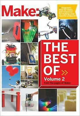 Best of Make: V 2 by The Editors Of Make (English) Paperback Book Free Shipping!