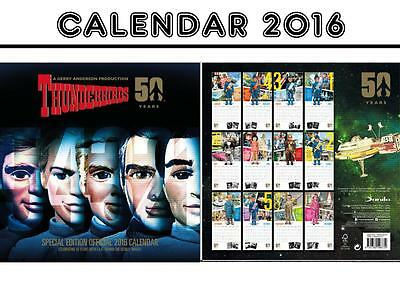 Thunderbirds Classic Official Calendar 2016 + Thunderbirds Fridge Magnet