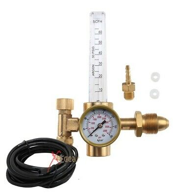 Argon CO2 Mig Tig Flow meter Regulator w/ Hose 4 Gas Welding Weld Machine New