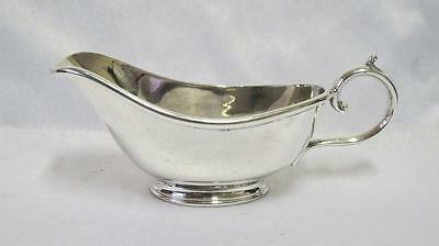 Antique Silver Plated Ep Gravy Sauce Boat James Deakin & Sons 1880
