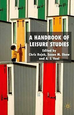NEW A Handbook of Leisure Studies by Hardcover Book (English) Free Shipping