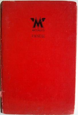 MATCHLESS 1933-1951 PEARSONS Motorcycle Owners Handbook 1952 3rd EDITION