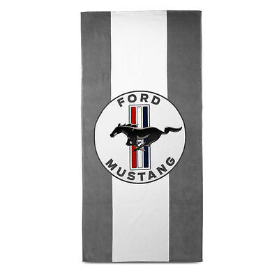 Genuine Ford Mustang Stripes Beach Towel