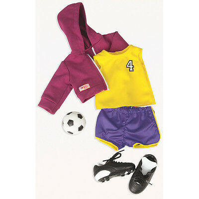 Our Generation Team Player Dolls Outfit NEW