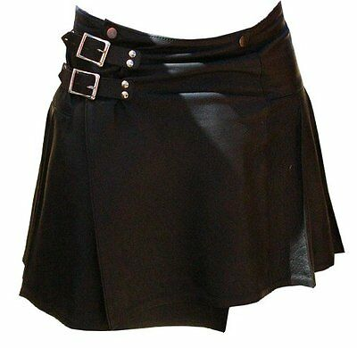 Men's Soft Napa Leather Kilt #510 New All Sizes