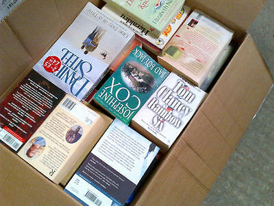Joblot/Wholesale Pallet of over 1700 Used PAPERBACK Books - FREE DELIVERY