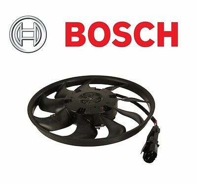 For Porsche Cayenne Base S Turbo Auxiliary Fan electric Pass Right Bosch Oem
