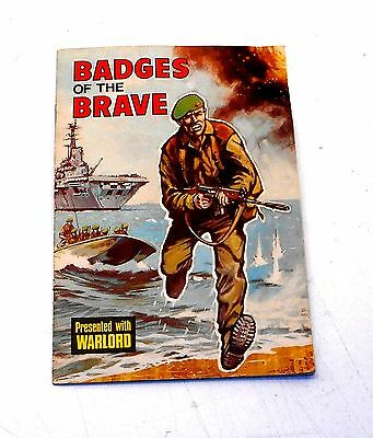 Warlord Comics - BADGES OF THE BRAVE - 100% Complete with all Gold Badges