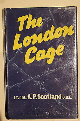 WW1 WW2 British The London Cage Espionage Interrogation Reference Book