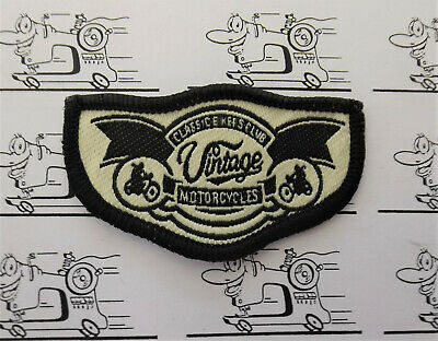 Motorrad Garage Biker Aufbügler Applikationen Sticker Motive Patches Bügelbild