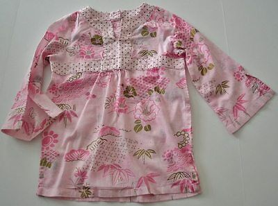 NWT Janie /& Jack Holiday Magic in the Woods Floral Chintz Top Girls  sz 2T