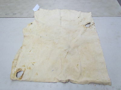 """Moose Hide Native American Traditionally Tanned Hide Soft 36"""" X 31"""", Unsmoked"""
