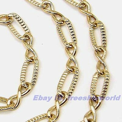 """3pcs Wholesale 18""""5mm12g REAL ENTRANCING 18K YELLOW GOLD GP RING NECKLACE SOLID"""