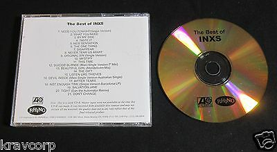 Inxs 'The Best Of' 2002 Promo Cd