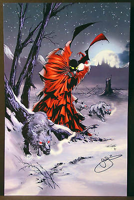 Spawn Fine Art Print by G.W. Fisher  Signed by Artist  New