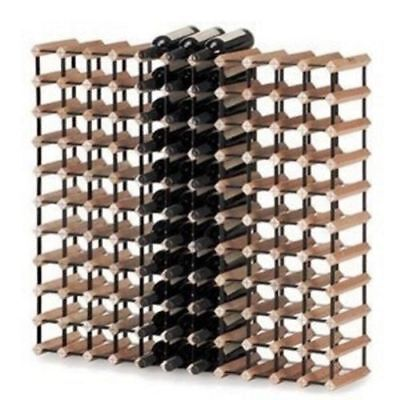 Monterey 120 Bottles Solid Timber Wooden Wine Rack Holder Storage Cellar Kit NEW
