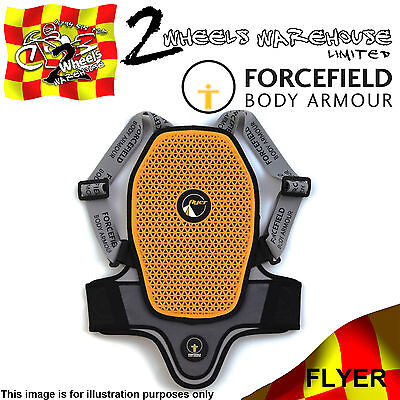 Forcefield Junior Flyer Childs Back Protector Childrens Kids Mini Moto Motocross