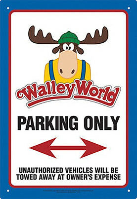 National Lampoon's Vacation Movie Walley World Parking Zone Tin Sign Poster NEW