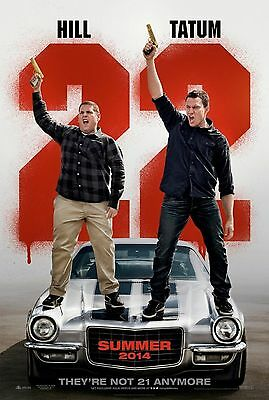 22 Jump Street 2 Advance Original Movie Poster Double Sided 27x40