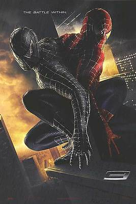 Spider-Man 3 Adv C Embossed The Battle Within Movie Poster 27x40 Two Sided Orig