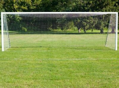 24FT X 8FT Football/Soccer Net/Netting Fits Full Size Goal With Net Supports