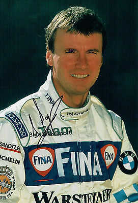 Steve SOPER SIGNED12x8 Photo AFTAL COA Autograph British Touring Car BMW Driver