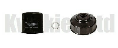 Triumph Speed Triple 1050 2011-2013 Genuine Oil Filter, Sump Washer & Wrench