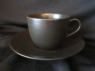 Lindt Stymeist - EBONY - Cup & Saucer - BRAND NEW