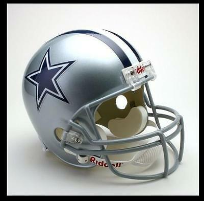 Dallas Cowboys Riddell Deluxe Full Size 1:1 Replica Helm,NFL Football,NEU
