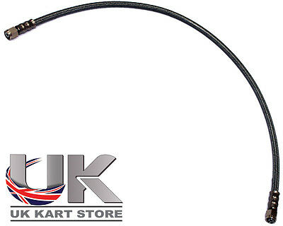 Black Braided Brake Pipe 100cm to Suit our Italian Caliper & Master Cylinder
