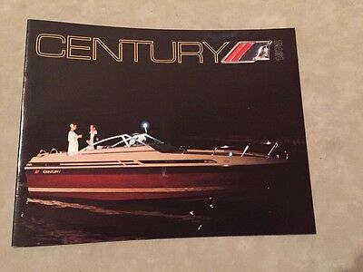Century Boat~Boats~1978 Original Sales Brochure~Mint Condition~Arabian~180-200