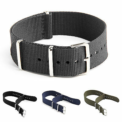 Nato Watch Strap Band Military Army Nylon Canvas Divers G10 Mens 18/20/22mm