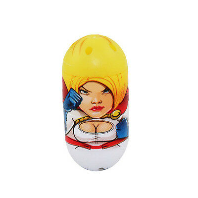 "Mighty Beanz Moose 2011 3cm/1.1"" #19 POWER GIRL"