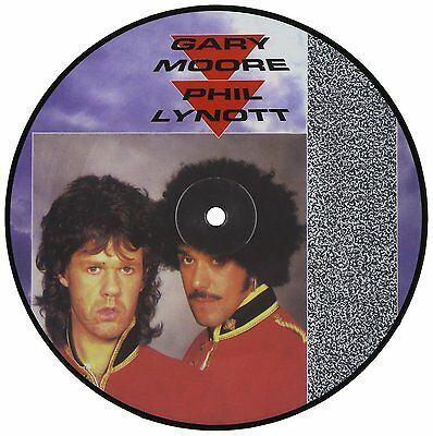 """Gary Moore & Phil Lynott - Out In The Fields: Limited Edition 7"""" Picture Disc"""