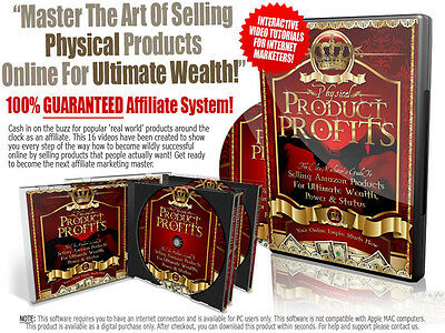 Discover The Way To Sell Physical Products Through Amazon- Software Videos 1 CD