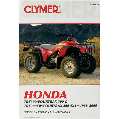 Repair Manual Honda TRX300FW / FourTrax 4X4 1988-2000
