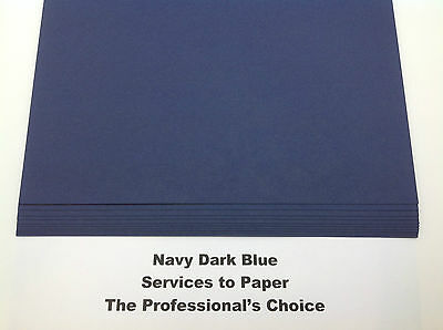 50 x A4 Navy Dark Blue Pearlescent Shimmer Pearl Card 300gsm **New Stock**