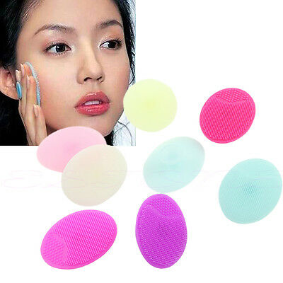 Silicone Wash Pad Face Exfoliating Blackhead Brush Facial Cleansing Beauty Tool