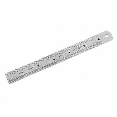 Office 15cm 6 Inches Scale Double Sides Measuring Straight Ruler