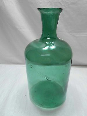REDUCED - Vintage Glass Fishing Float Bottle Jar Hokuyo Japanese