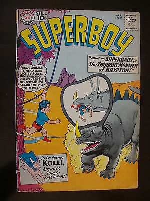 Superboy #87 FA/G Superbaby Thought Monster