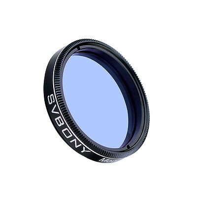 SVBONY 1.25'' Blue Moon & Skyglow Filter Light Pollution for Telescope Eyepiece