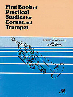 First Book Of Practical Studies For Cornet And Trumpet Book!