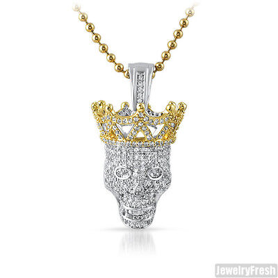"""Microphone Mic Iced-Out Pendant Gold Finish Hip Hop DJ New Mens 36/"""" Franco Chain"""