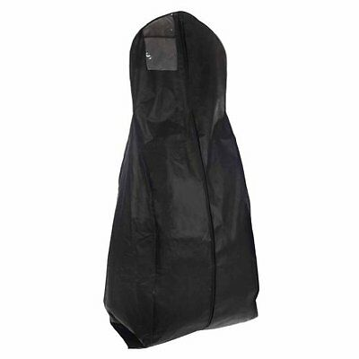 X-large Breathable Black Wedding Gown Garment Bag by BAGS FOR LESSTM